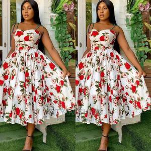 Beautiful Floral Dress   Clothing for sale in Central Region, Kampala