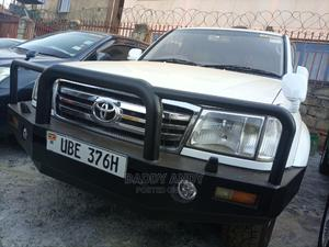 Toyota Land Cruiser Cygnus 2002 4.7 White | Cars for sale in Central Region, Kampala