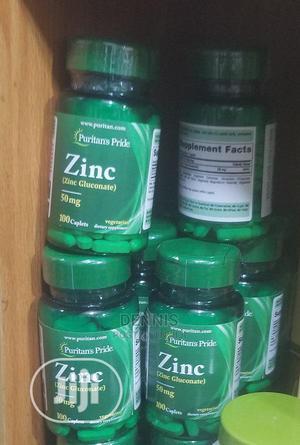 Zinc (Zinc Gluconate) 50mg -250 Caplets | Vitamins & Supplements for sale in Central Region, Kampala