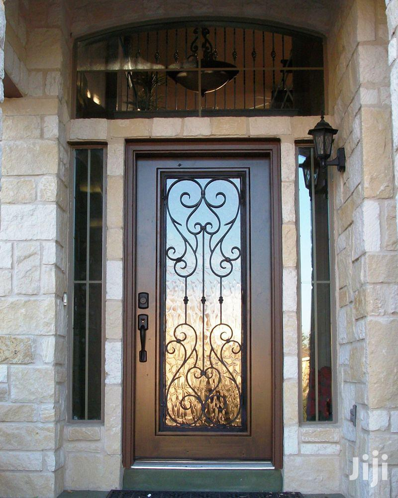 S160819 Wrought Iron Single Doors C | Doors for sale in Kampala, Central Region, Uganda