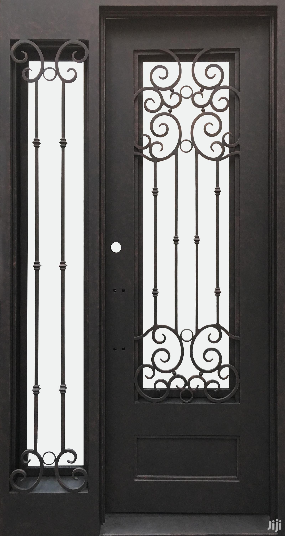 S160819 Wrought Iron Doors F