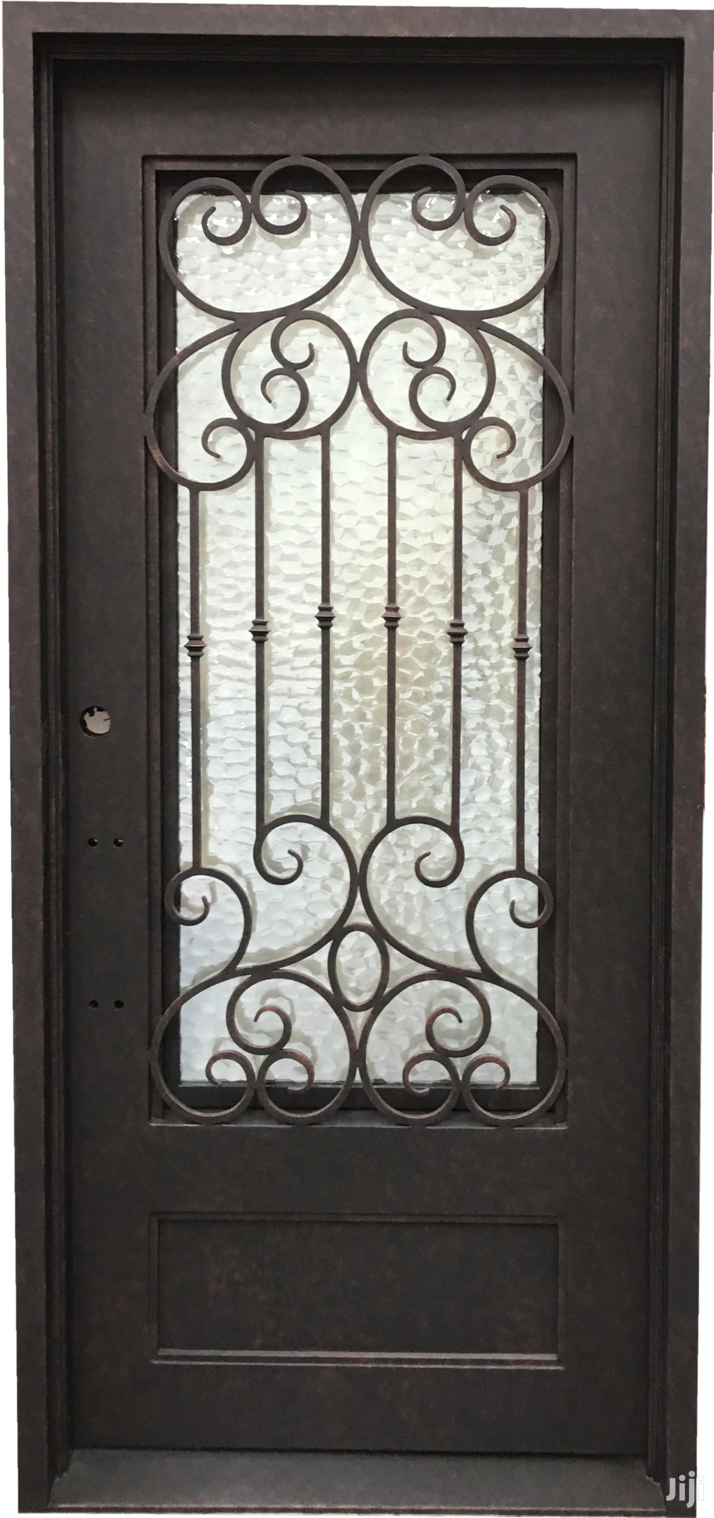 S160819 Wrought Iron Doors F | Doors for sale in Kampala, Central Region, Uganda
