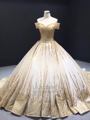 Golden Wedding Dress | Wedding Wear & Accessories for sale in Central Region, Kampala