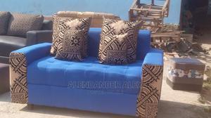 Alekuu Sofa in Fabrick Blue   Furniture for sale in Central Region, Kampala