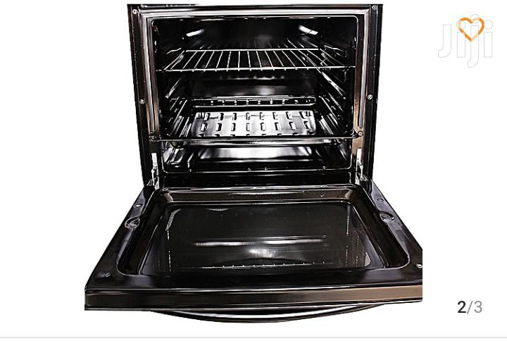 BLUEFLAME 3 Gas + 1 Electric Plate Gas Cooker & Oven 50*50cm - Black
