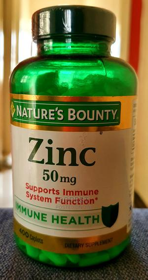Zinc 50mg 400 Caplets | Vitamins & Supplements for sale in Central Region, Kampala