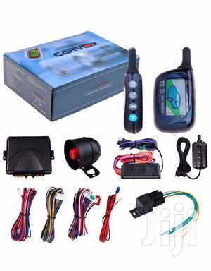 2 Way Car Lcd Alarm Auto Security System