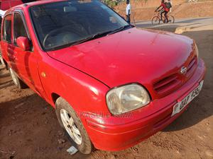 Nissan March 2000 Red | Cars for sale in Central Region, Kampala
