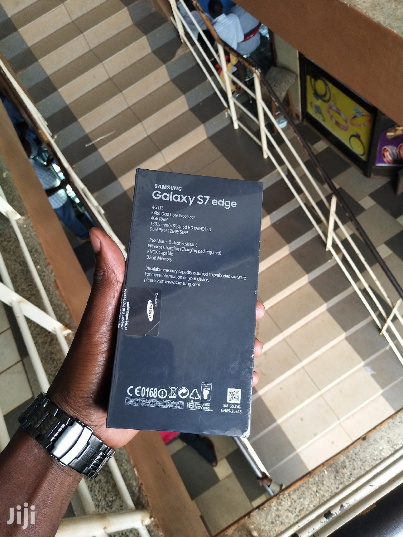 New Samsung Galaxy S7 edge 32 GB Blue   Mobile Phones for sale in Kampala, Central Region, Uganda