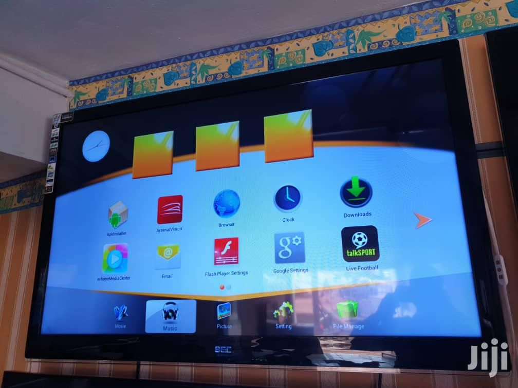Bec Flat Screen Smart 3D Tv 55 Inches | TV & DVD Equipment for sale in Kampala, Central Region, Uganda