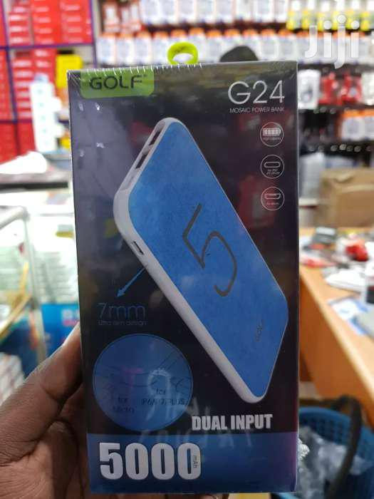 Golf G24 SUPER POWERFUL POWER BANK 5000mah
