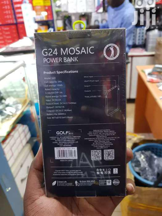 Golf G24 SUPER POWERFUL POWER BANK 5000mah | Accessories for Mobile Phones & Tablets for sale in Kampala, Central Region, Uganda