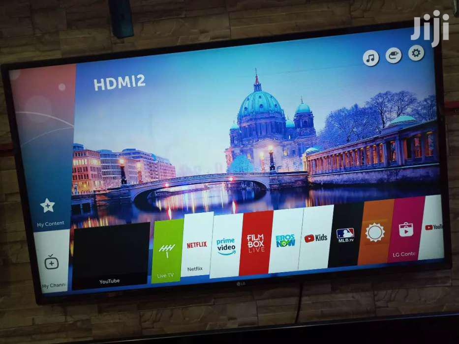 LG Smart UHD 4k TV 43 Inches   TV & DVD Equipment for sale in Kampala, Central Region, Uganda