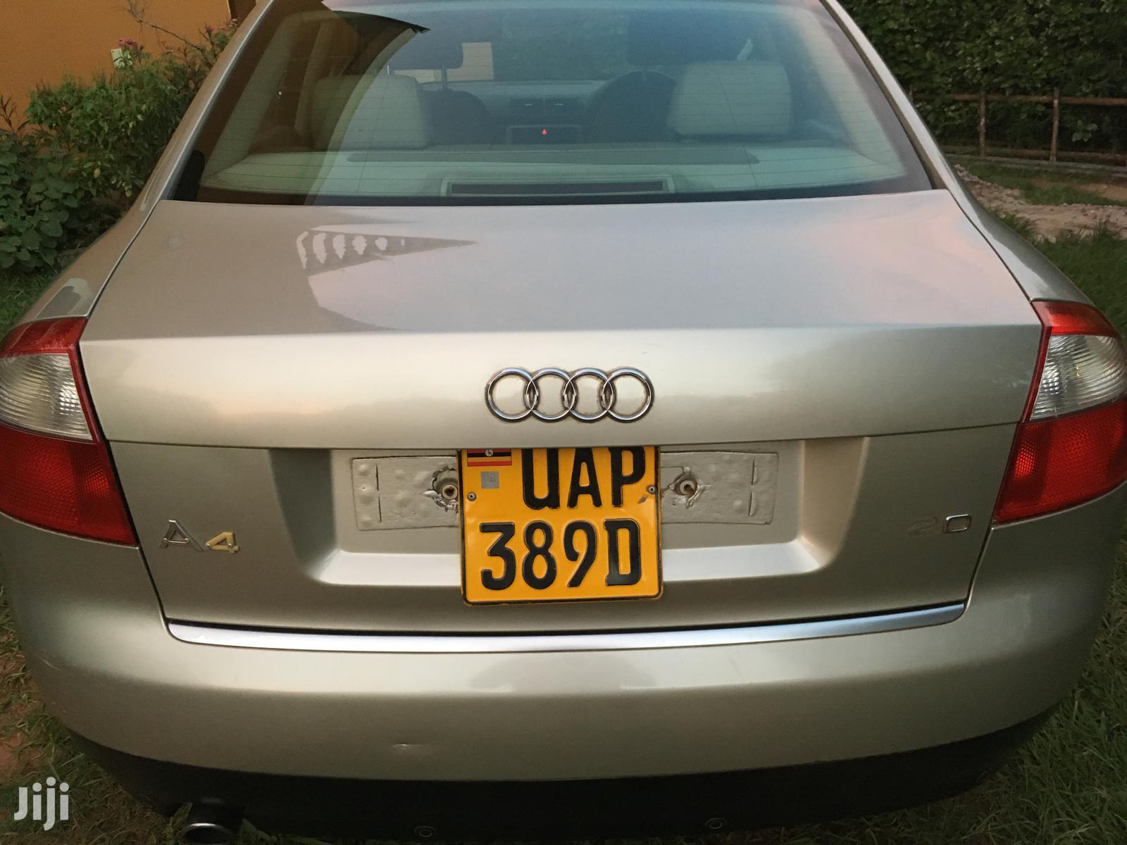Audi A4 2004 2.0 T FSI Multitronic Beige | Cars for sale in Kampala, Central Region, Uganda