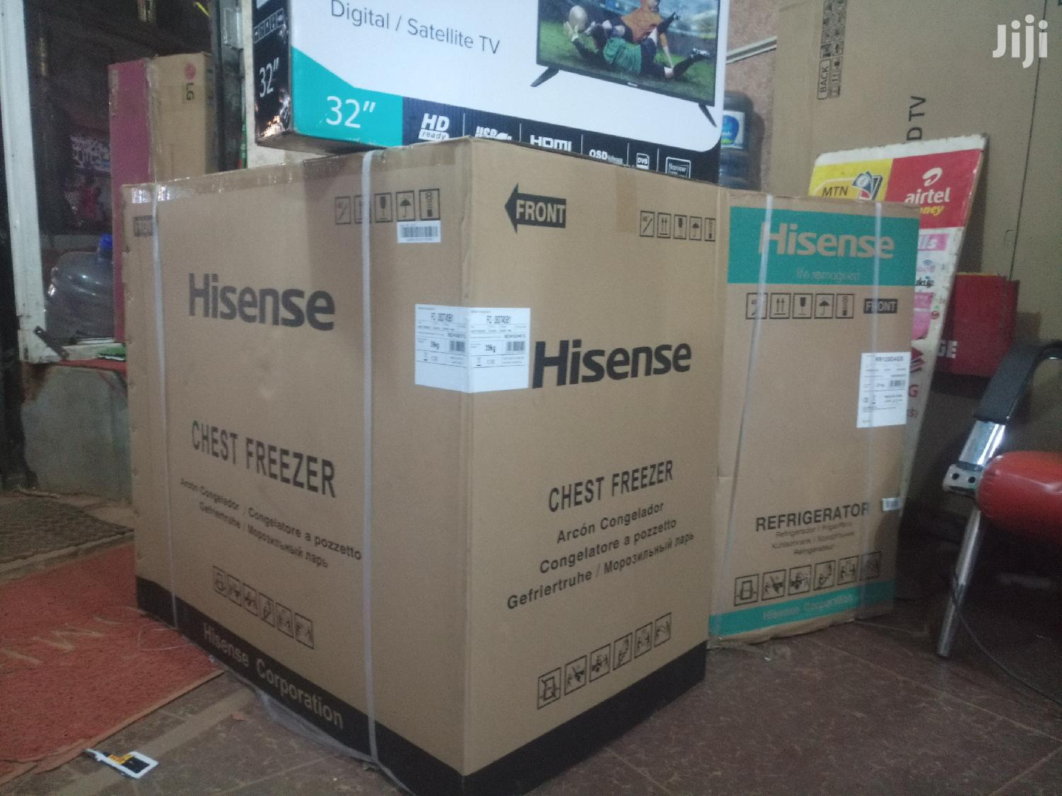 Hisense 190L Chest Freezer | Kitchen Appliances for sale in Kampala, Central Region, Uganda