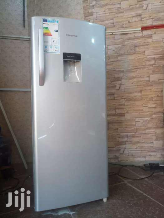224 Litres HISENSE Refridge With a Water Dispenser and Deep Freezer   Kitchen Appliances for sale in Kampala, Central Region, Uganda