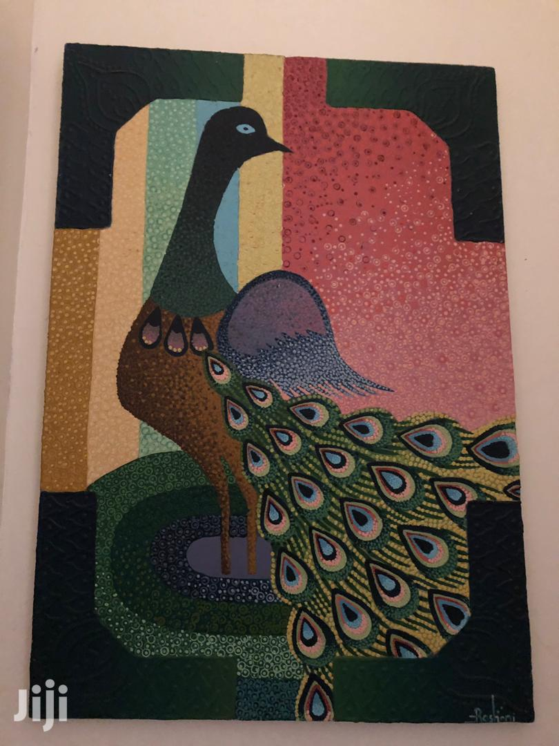 Peacock Big Size Oil Painting   Arts & Crafts for sale in Kampala, Central Region, Uganda
