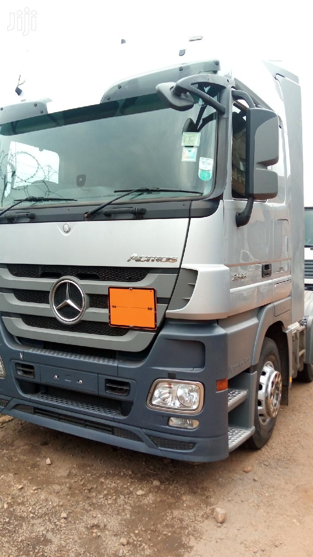 New Mercedes-benz Actros 2011 Gray