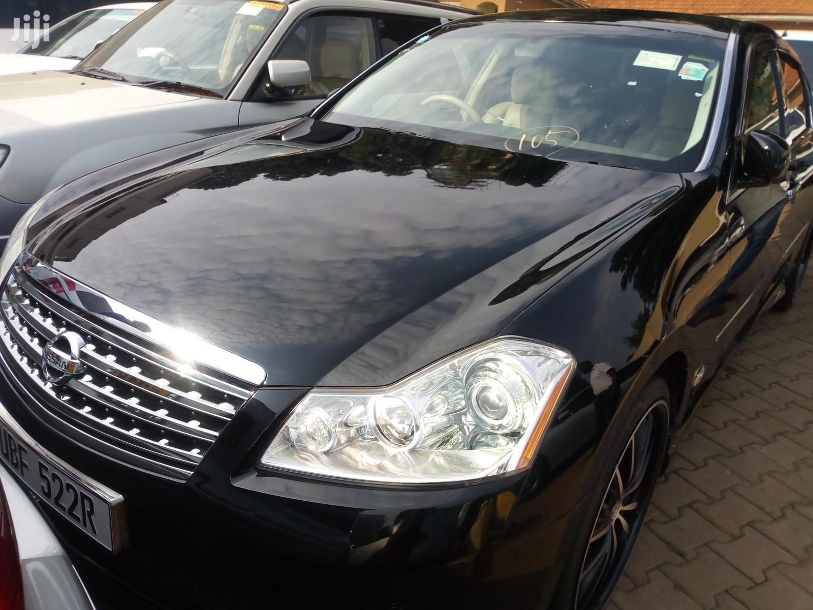 Nissan Fuga 2005 Black