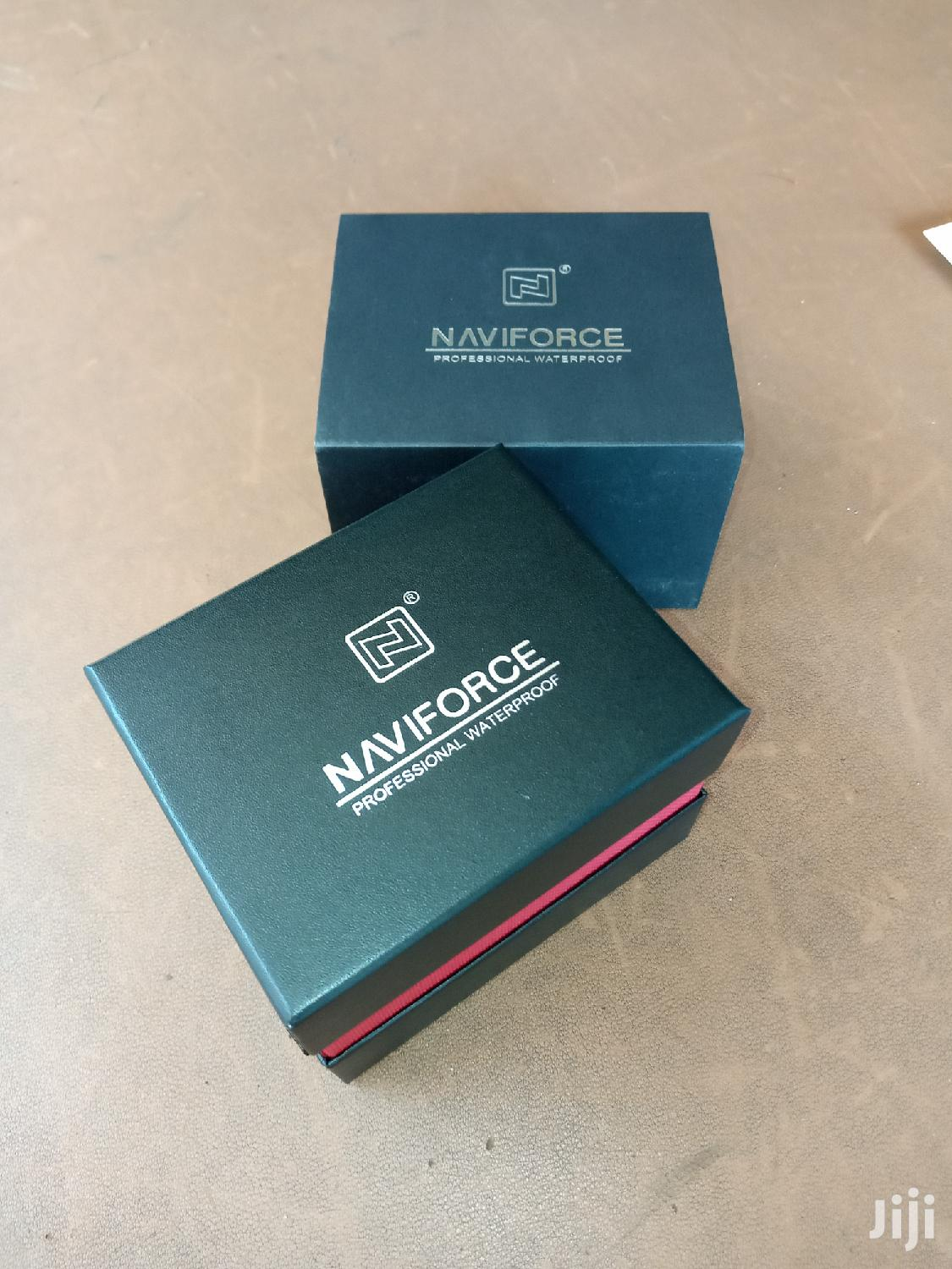 Naviforce Men's Leather Watch | Watches for sale in Kampala, Central Region, Uganda