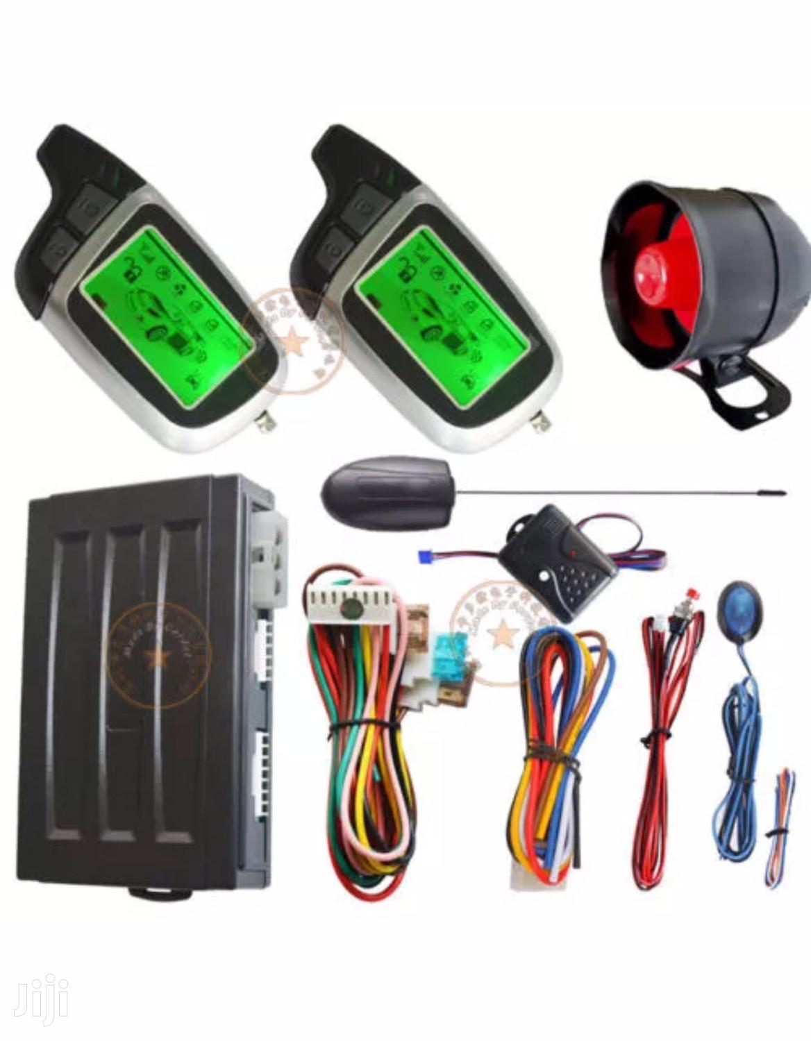 Remote Engine Ignition Start Auto Car Alarm System   Vehicle Parts & Accessories for sale in Kampala, Central Region, Uganda