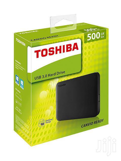 Archive: Toshiba 500gb External Hard Drive