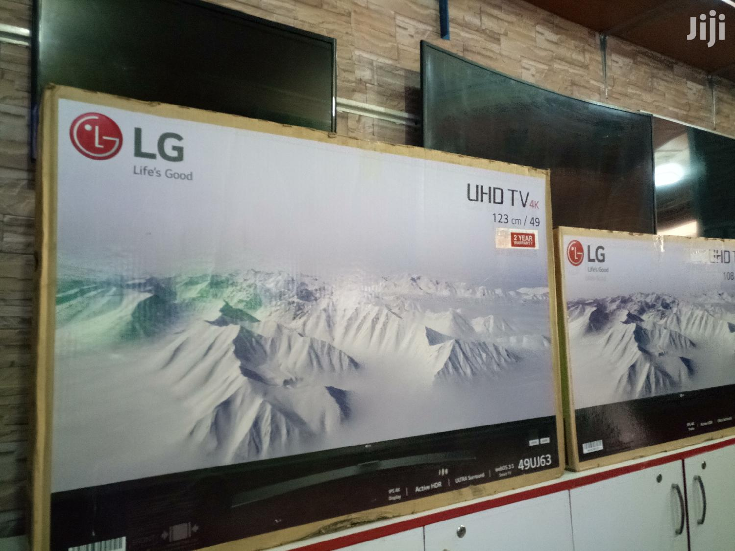 Archive: LG Smart Uhd(4K) Digital/Satellite Tv 50 Inches