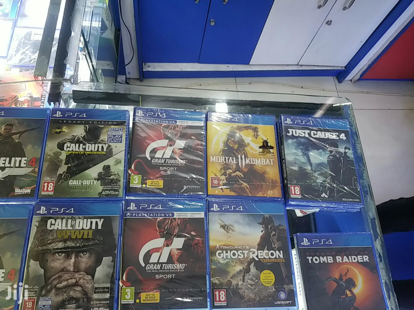 Playstation 4 Games New And Used Games | Video Games for sale in Kampala, Central Region, Uganda