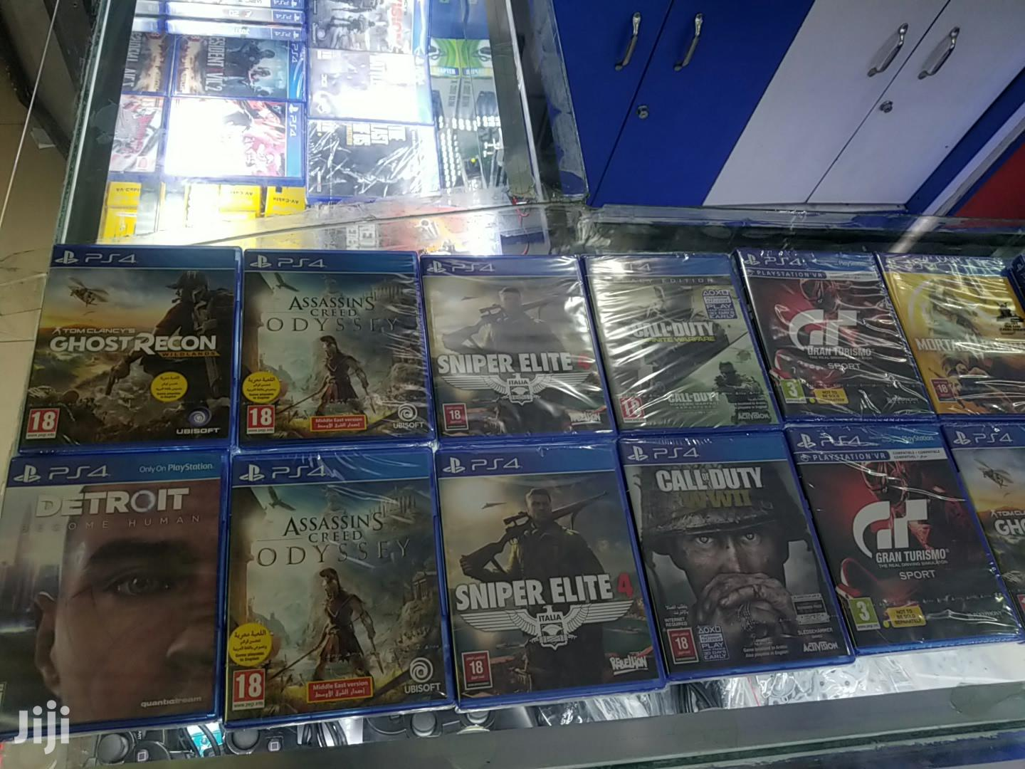 Playstation 4 Games New And Used Games