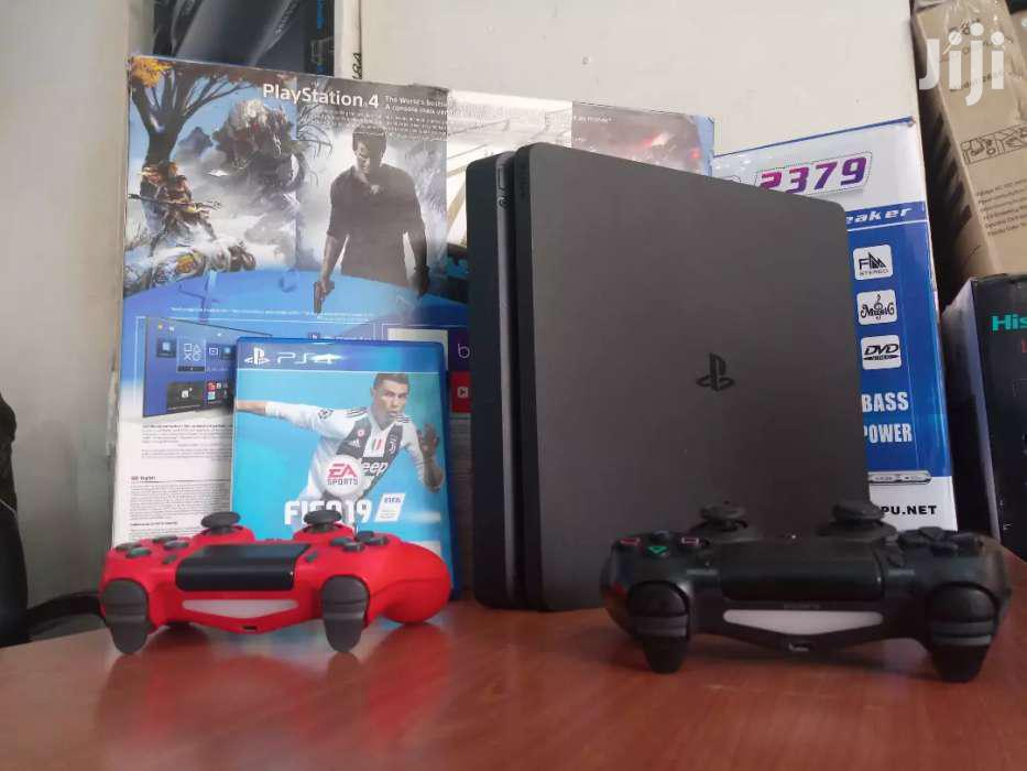 Brand New Boxed Playstation 4 Slim Fullest   Video Game Consoles for sale in Kampala, Central Region, Uganda