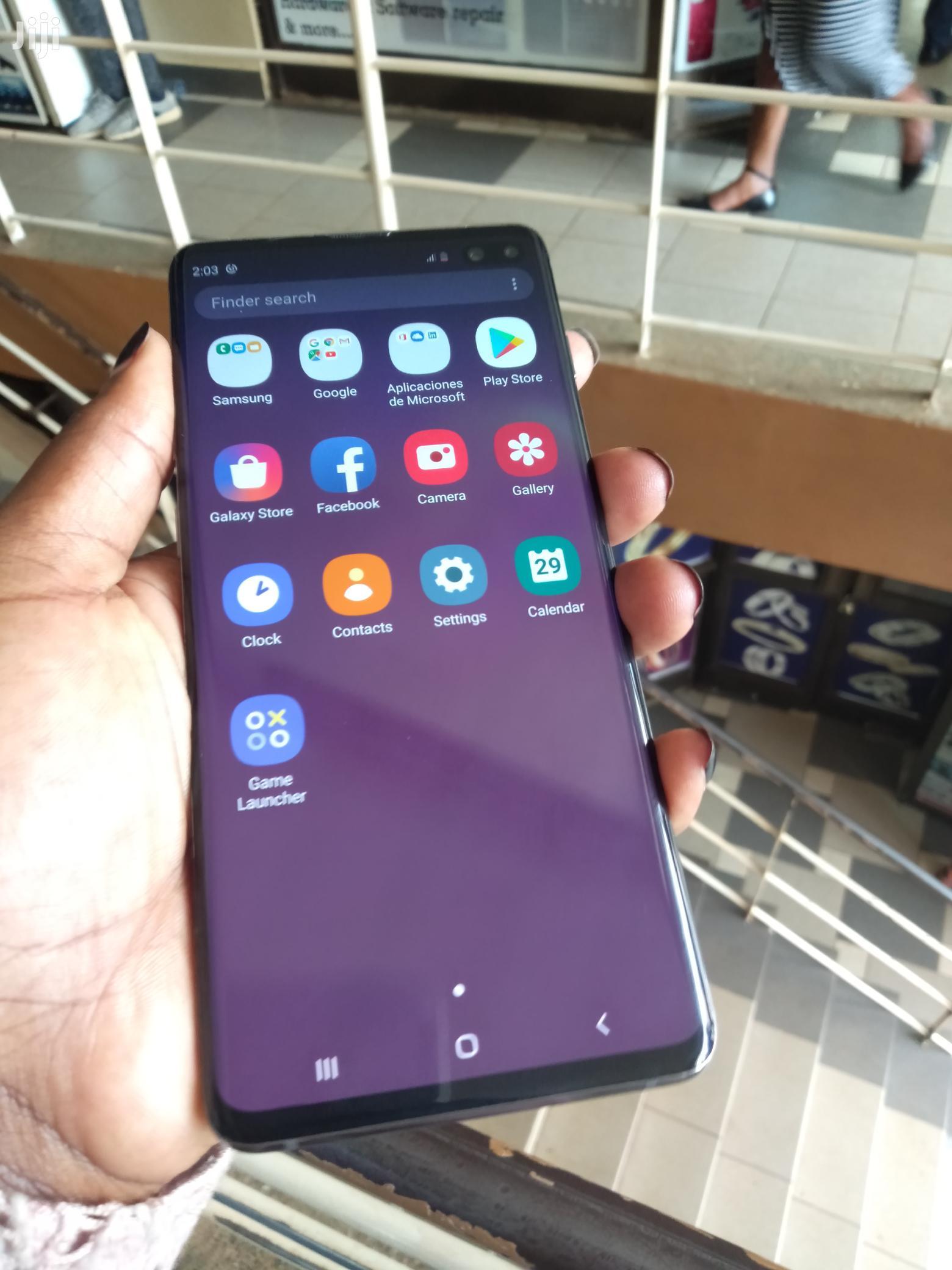 Samsung Galaxy S10 Plus 128 GB Black | Mobile Phones for sale in Kampala, Central Region, Uganda