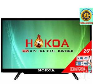 Hokoa 26 Inch Flat Screen T.V With Free To Air Decoder In Built   TV & DVD Equipment for sale in Central Region, Kampala