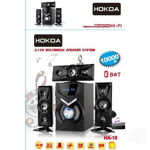 Hokoa HUME31(HA-18), 3.1 Home Speaker 10000W PMPO USB BT Radio   Audio & Music Equipment for sale in Central Region, Kampala