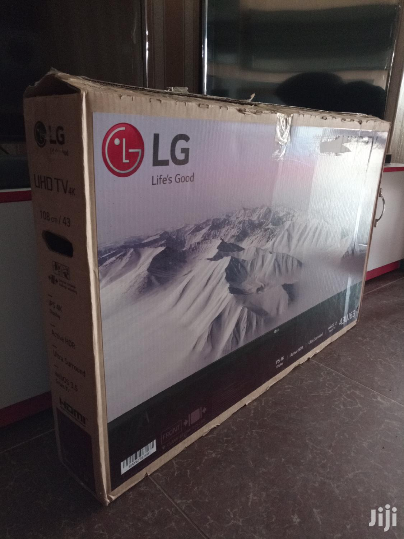 New LG Smart UHD 4K Tv 43 Inches
