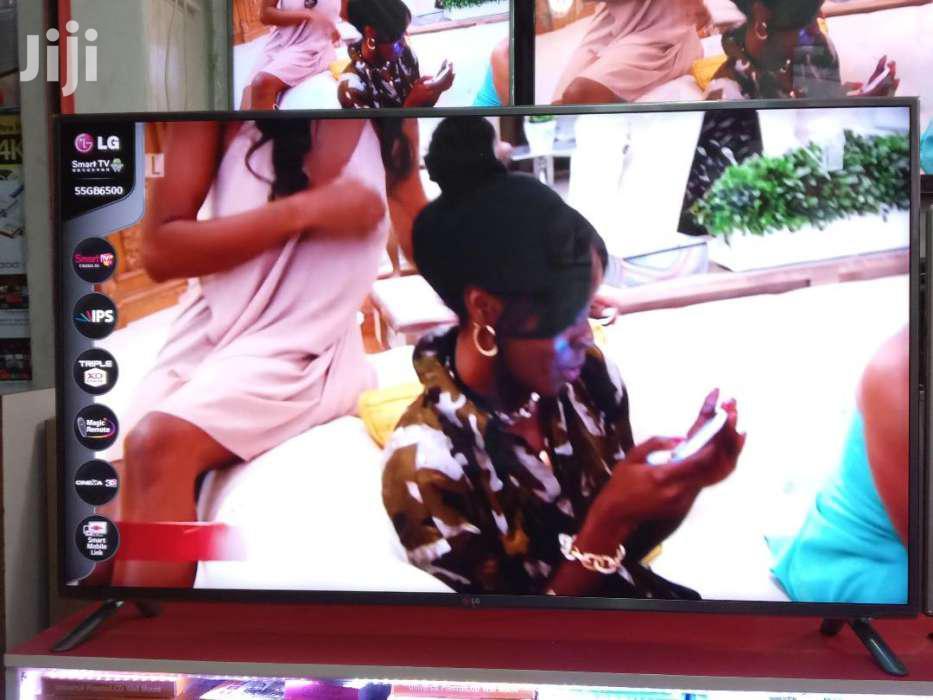 55inches LG Smart 3D Digital Satellite   TV & DVD Equipment for sale in Kisoro, Western Region, Uganda