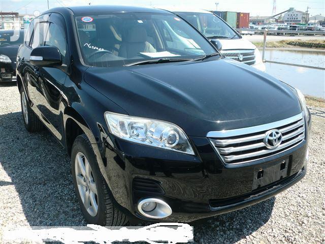 Toyota Vanguard 2008 Black