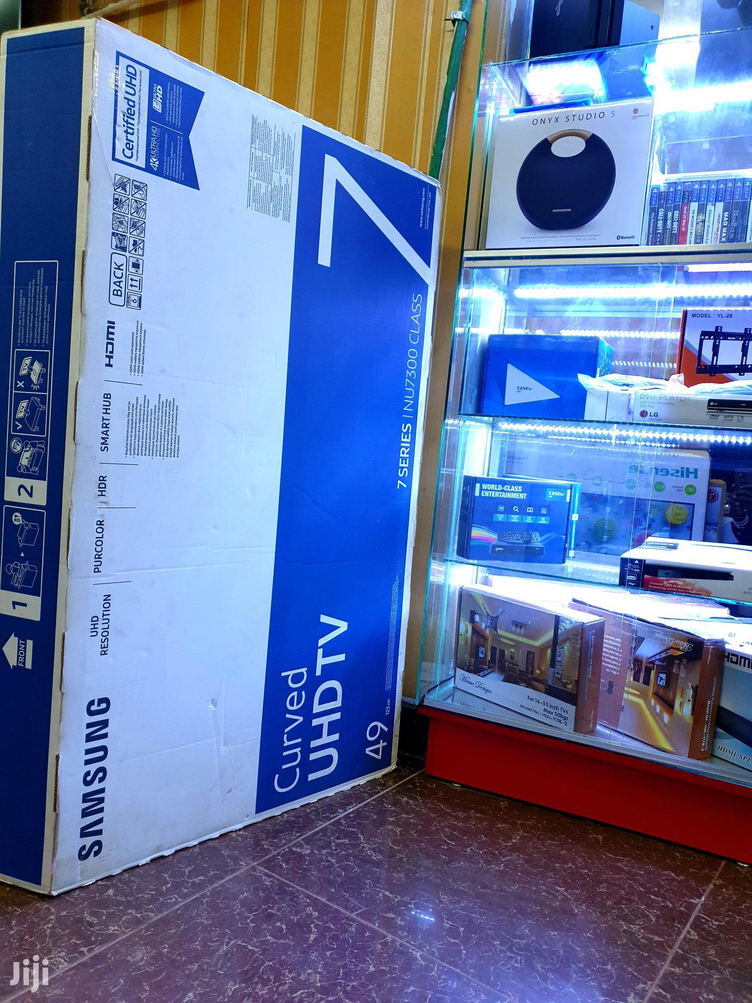 "Brand New Samsung Curve Ultra Hd 4k TV 49""   TV & DVD Equipment for sale in Kampala, Central Region, Uganda"