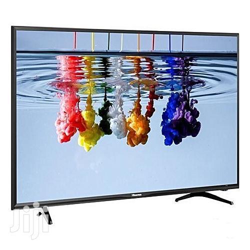 "Hisense Smart 4K UHD TV With HDR - QR Code Scan 49"""