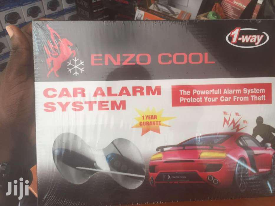Enzo Car Number 1 Alarm System