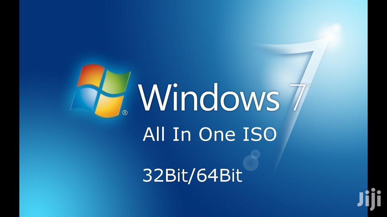 Windows 7 (All In DVD) | Software for sale in Kampala, Central Region, Uganda