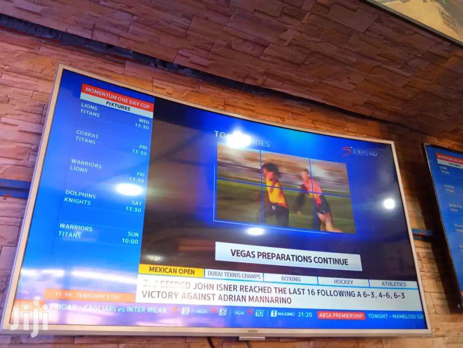 Samsung Curved TV 55 Inches Smart Tv   TV & DVD Equipment for sale in Kampala, Central Region, Uganda