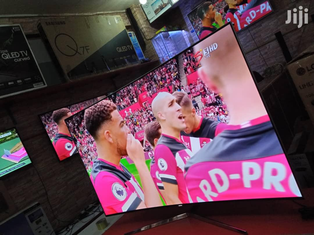 Samsung 55 Inches Curved 4K Flat Screen | TV & DVD Equipment for sale in Kampala, Central Region, Uganda