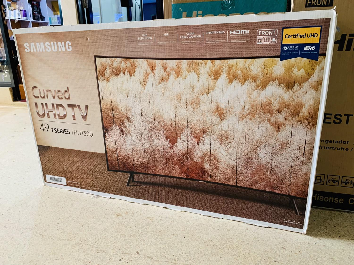 49 Inches Smart UHD Curved Samsung LED Flat Screen | TV & DVD Equipment for sale in Kampala, Central Region, Uganda