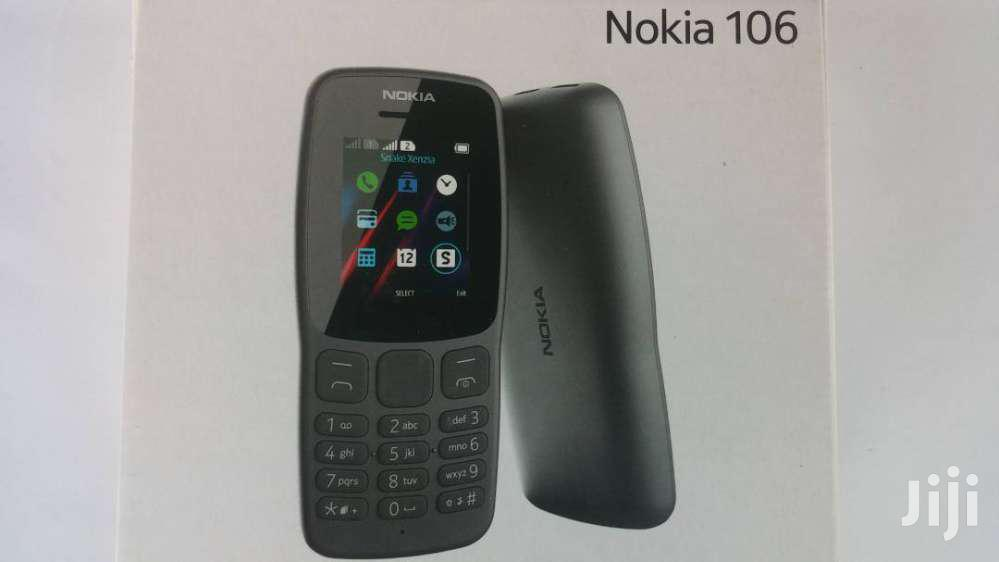 New Nokia 106 Black