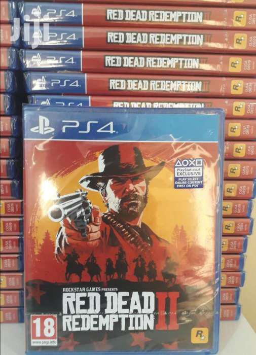 Red Dead Redemption Game For Ps4