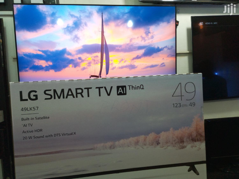 49 Inches Lg Led Smart Tv Ai Thin Q Satelite Digital Flat Tv | TV & DVD Equipment for sale in Kampala, Central Region, Uganda