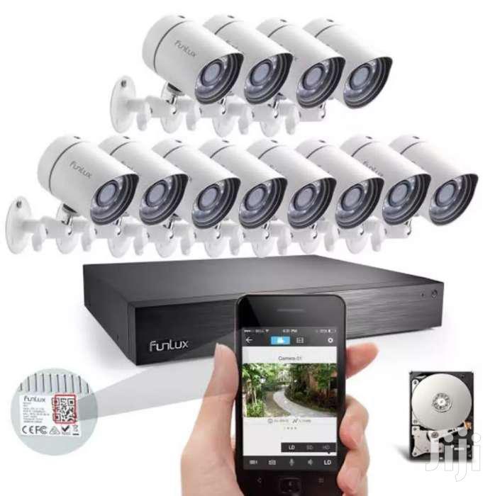 16 CCTV Camera System