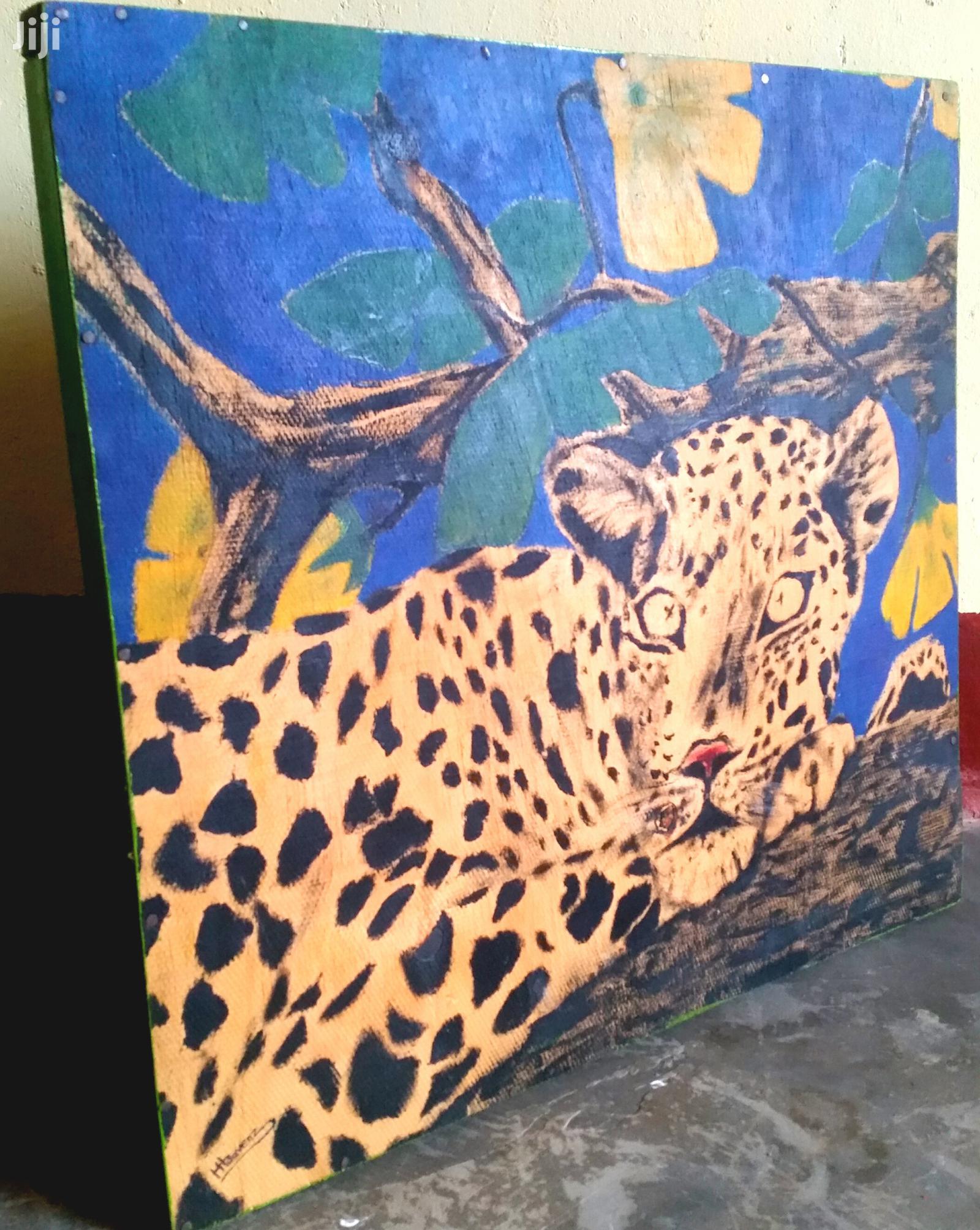 Art Animal Painting / Cheetah Art Painting