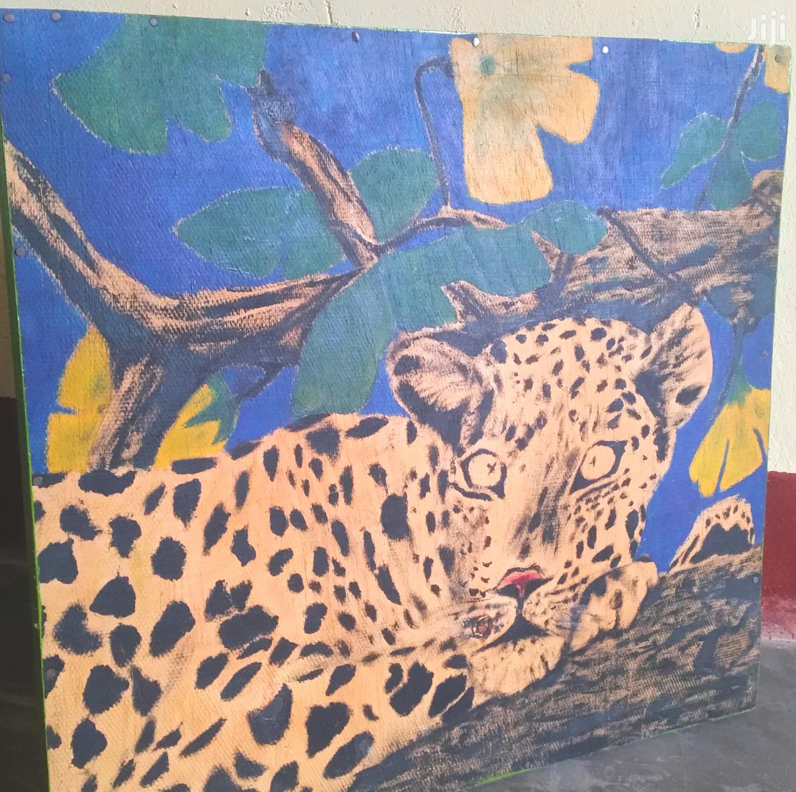 Art Animal Painting / Cheetah Art Painting | Arts & Crafts for sale in Kampala, Central Region, Uganda