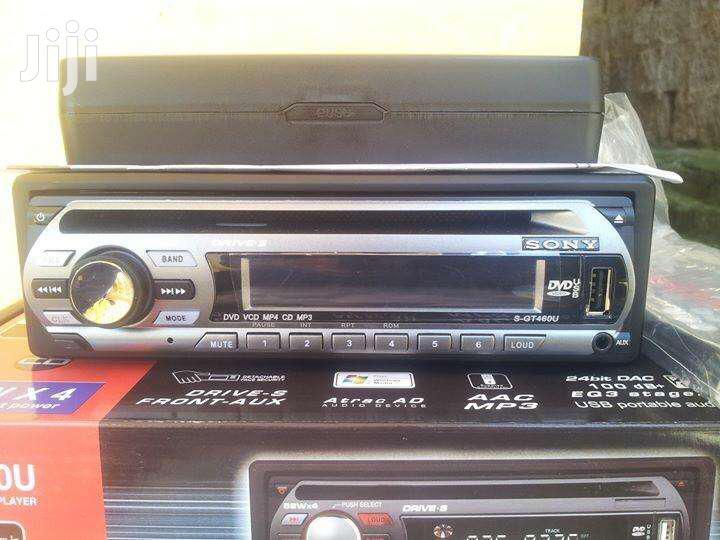 Sony Car Radio With Nice Output